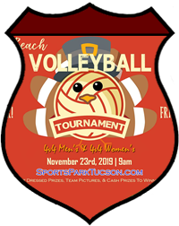 Nov 23rd Thanksgiving Volleyball Tournament 4v4 - A/B - Nov 23rd Thanksgiving Volleyball Tournament Women's 4v4 - A/B
