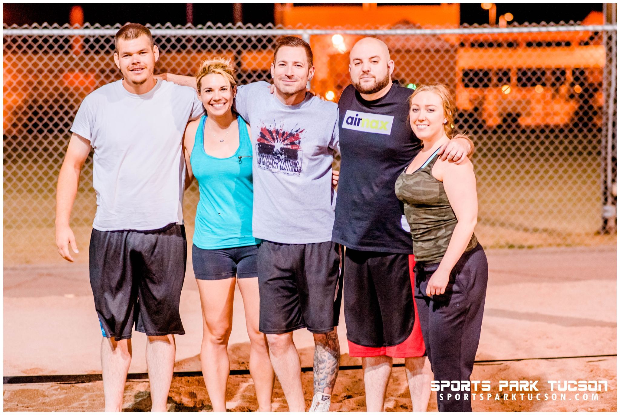 Volleyball Fri Co-ed 6 V 6 - Silver, Team: Sands of Anarchy