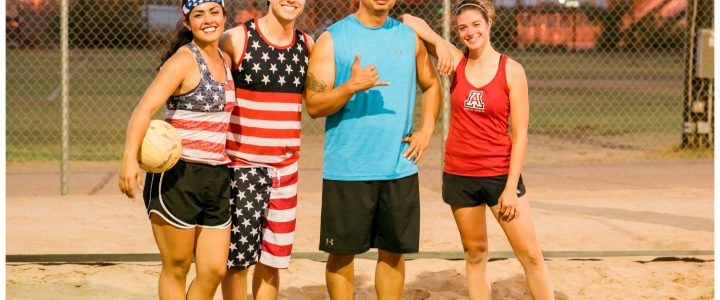 Monday 4v4 Coed Sand Volleyball League!