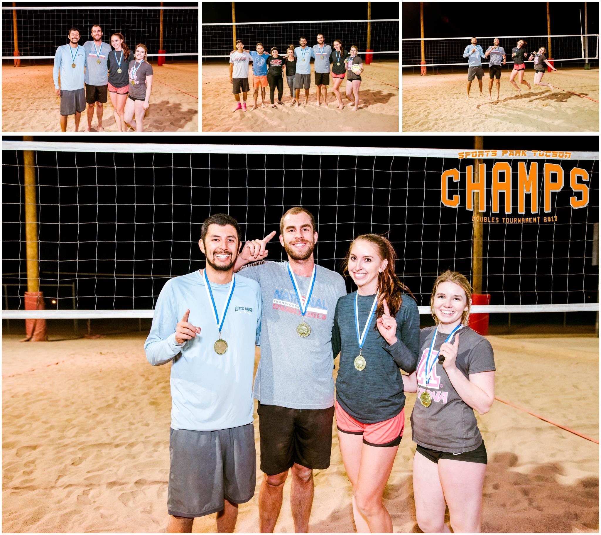 Volleyball Wed Co-ed 4 v 4 - Gold Champions