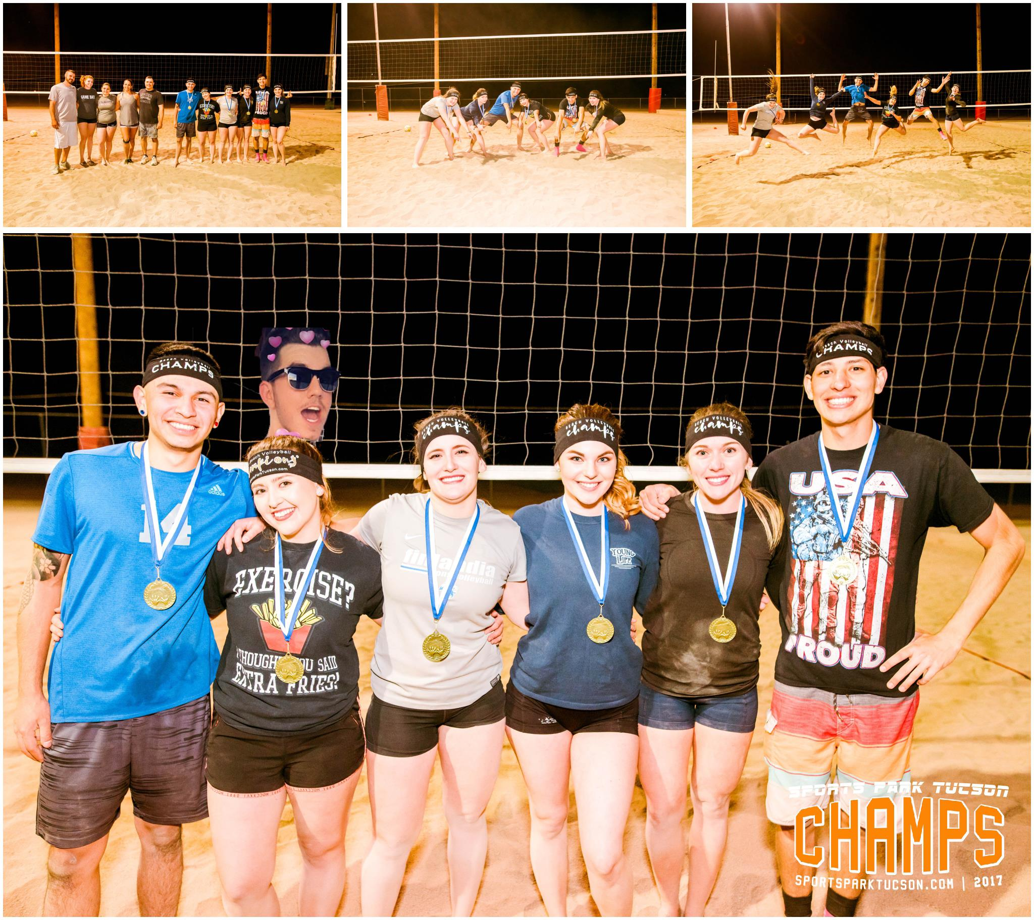 Volleyball Fri Co-ed 6 v 6 - Gold Champions