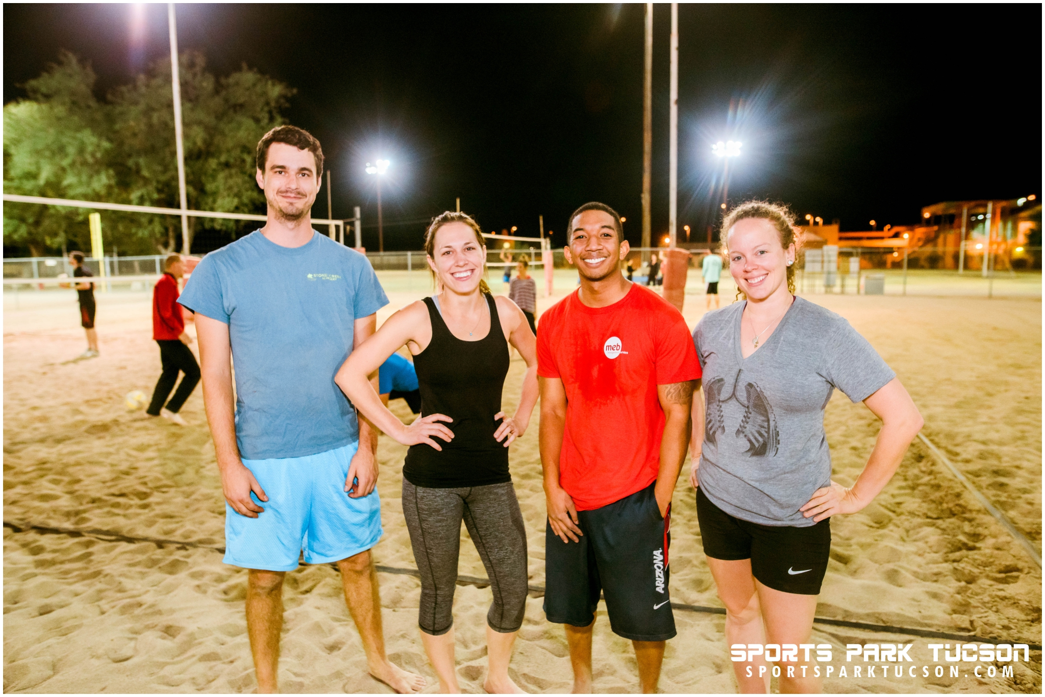 Volleyball Wed Co-ed 4 v 4 - Silver, Team: Orville ready-blocker