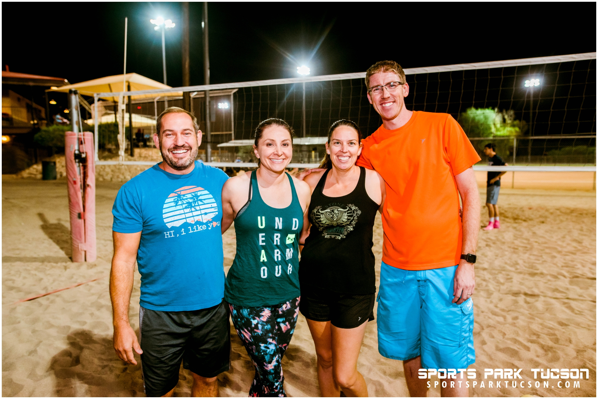 Volleyball Wed Co-ed 4 v 4 - Gold, Team: Some Spike it Hot