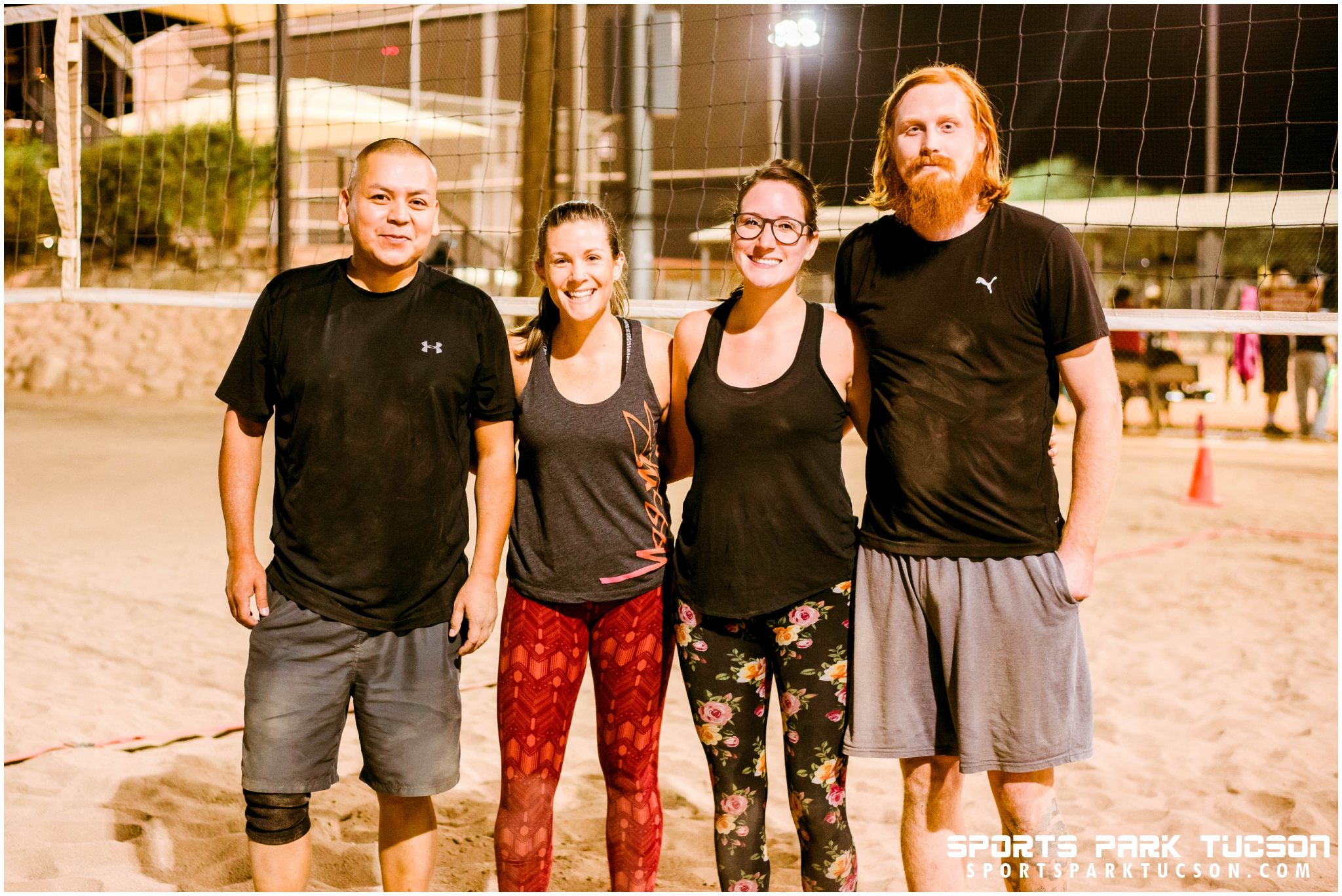 Volleyball Mon Co-ed 4 v 4 - Gold, Team: Slapping the Ace