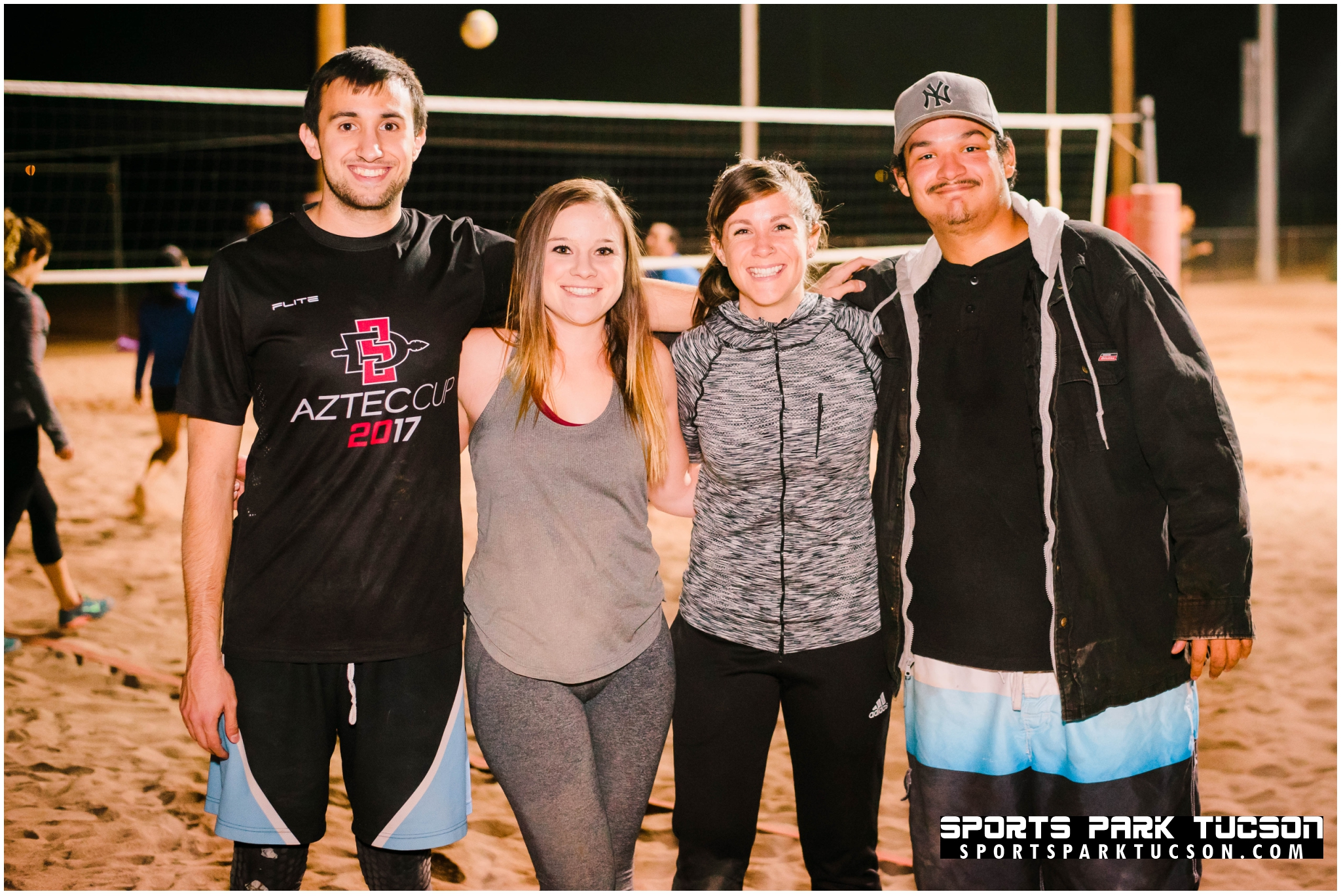 Volleyball Wed Co-ed 4 v 4 - Silver, Team: EZ Pass