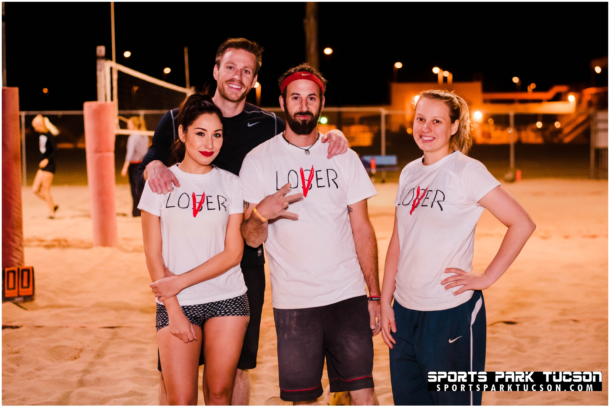 Volleyball Wed Co-ed 4 v 4 - Gold, Team: The Losers Club