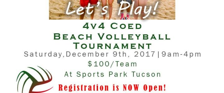 Dec 9th Ugly Sweater 4v4 Coed Volleyball Tournament