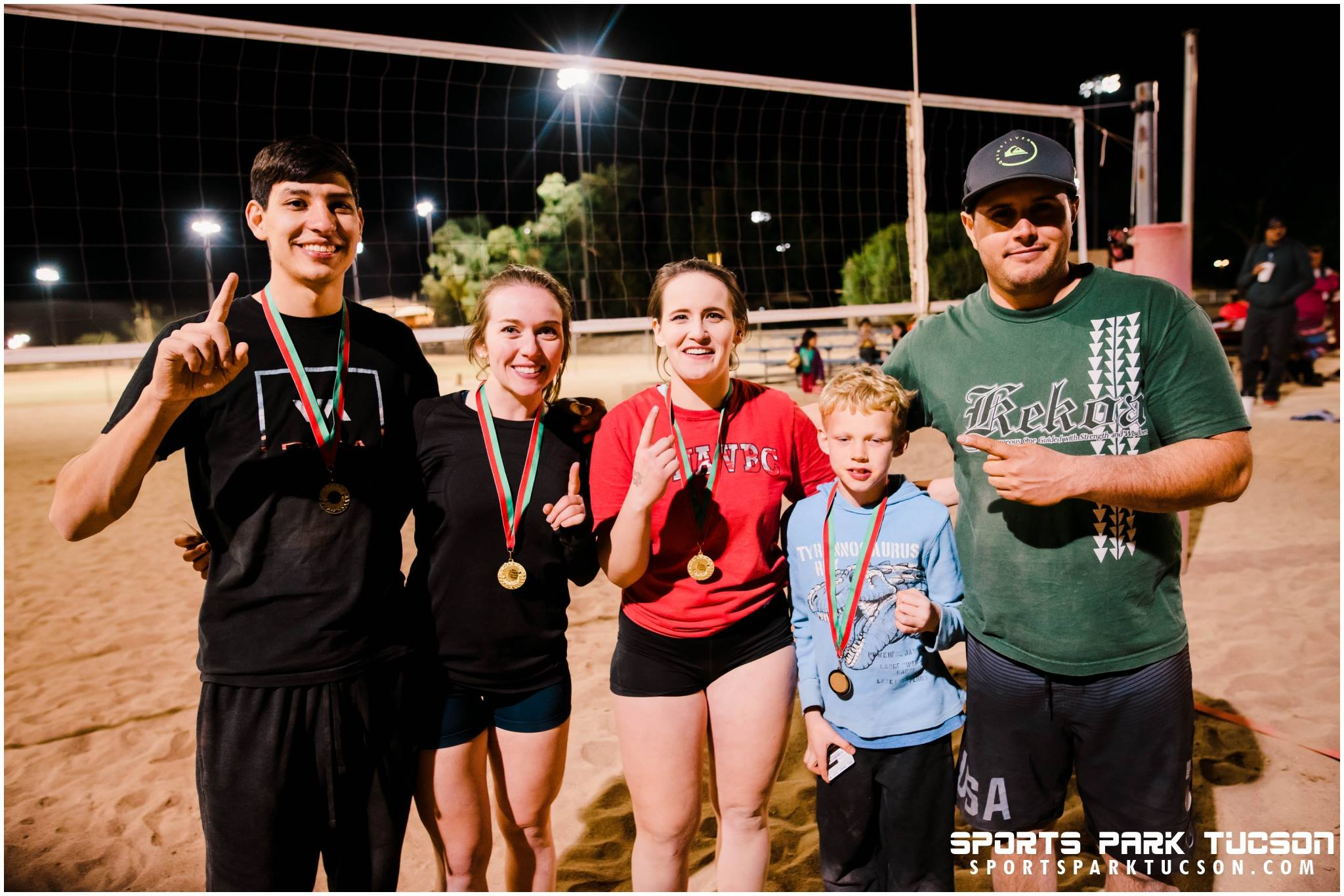 Dec 9th Ugly Sweater 4v4 Coed Volleyball Tournament  Champions