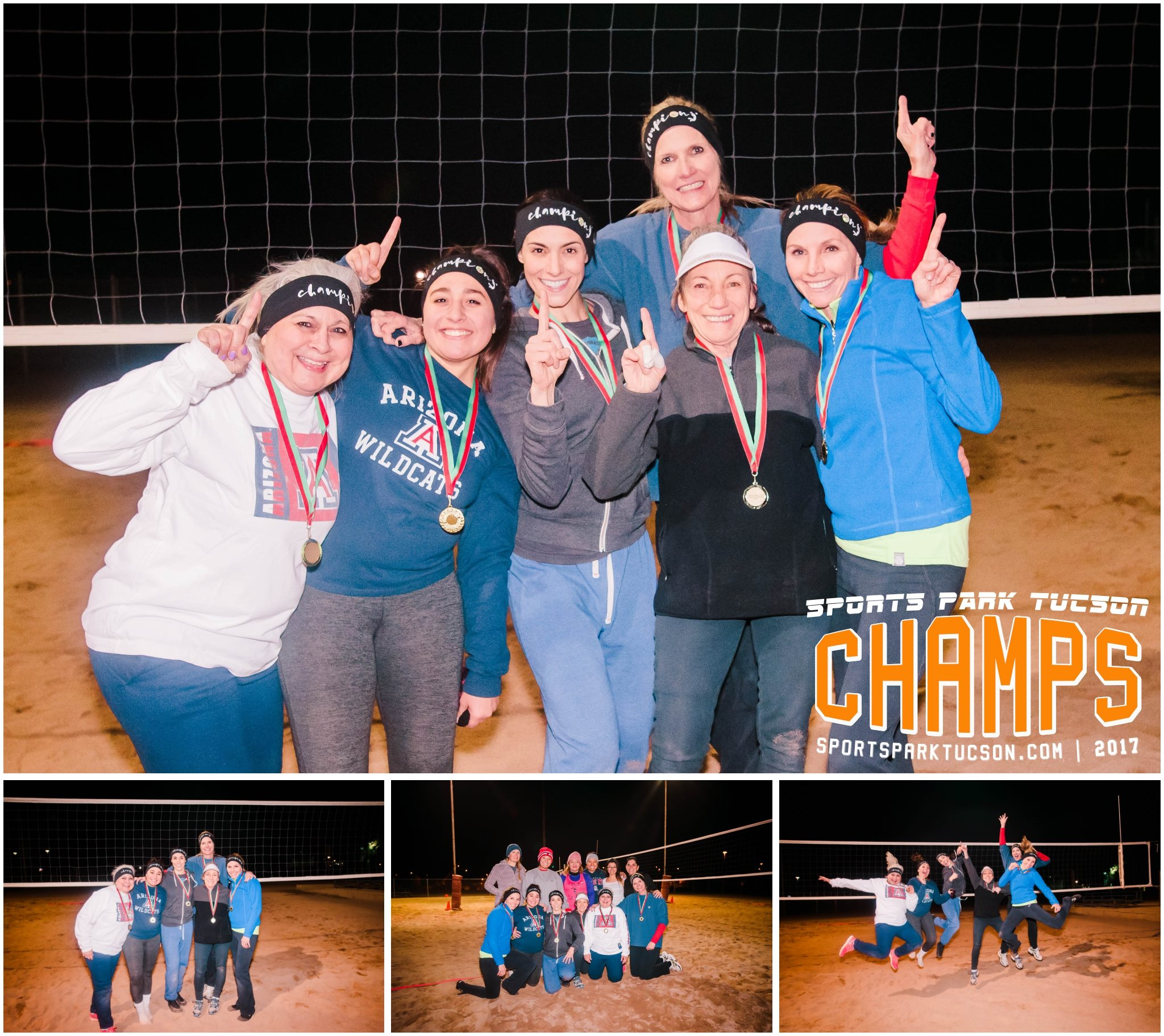 Volleyball Thu Women's 6 v 6 - Gold Champions