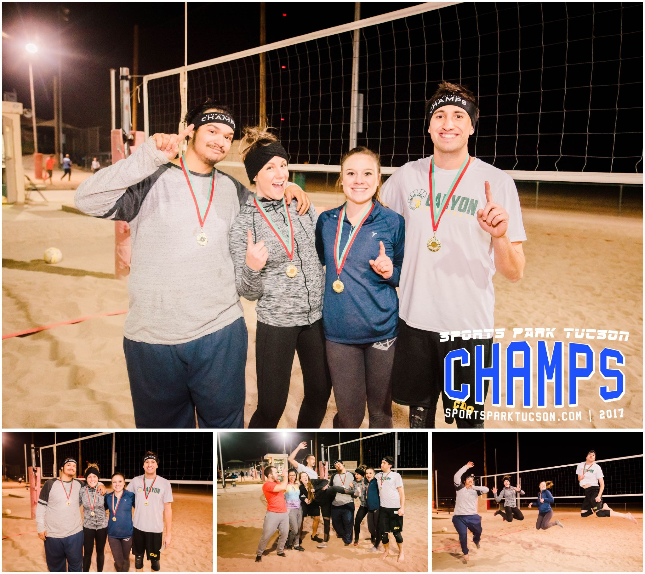 Volleyball Wed Co-ed 4 v 4 - Silver Champions
