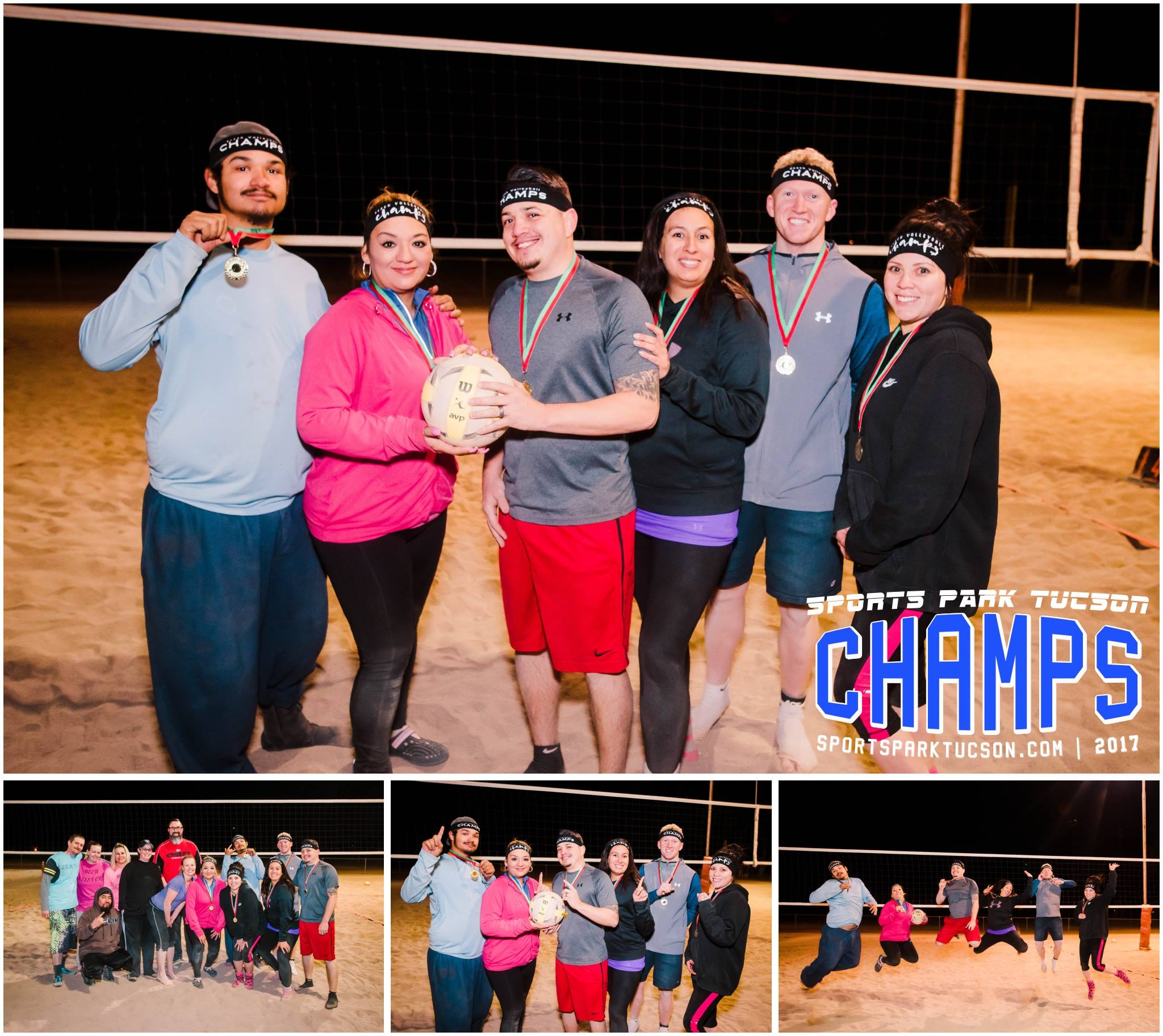 Volleyball Fri Co-ed 6 v 6 - Silver Champions