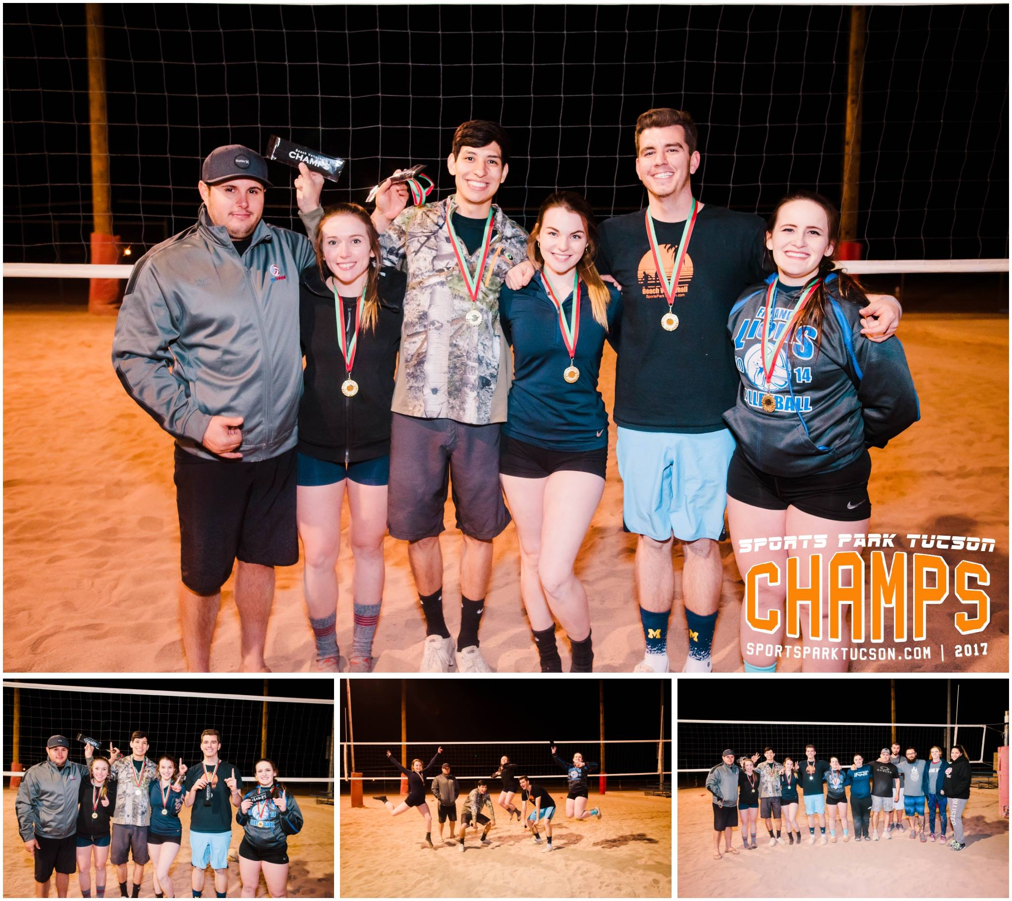 Volleyball Fri Co-ed 6 v 6 - Gold Champions