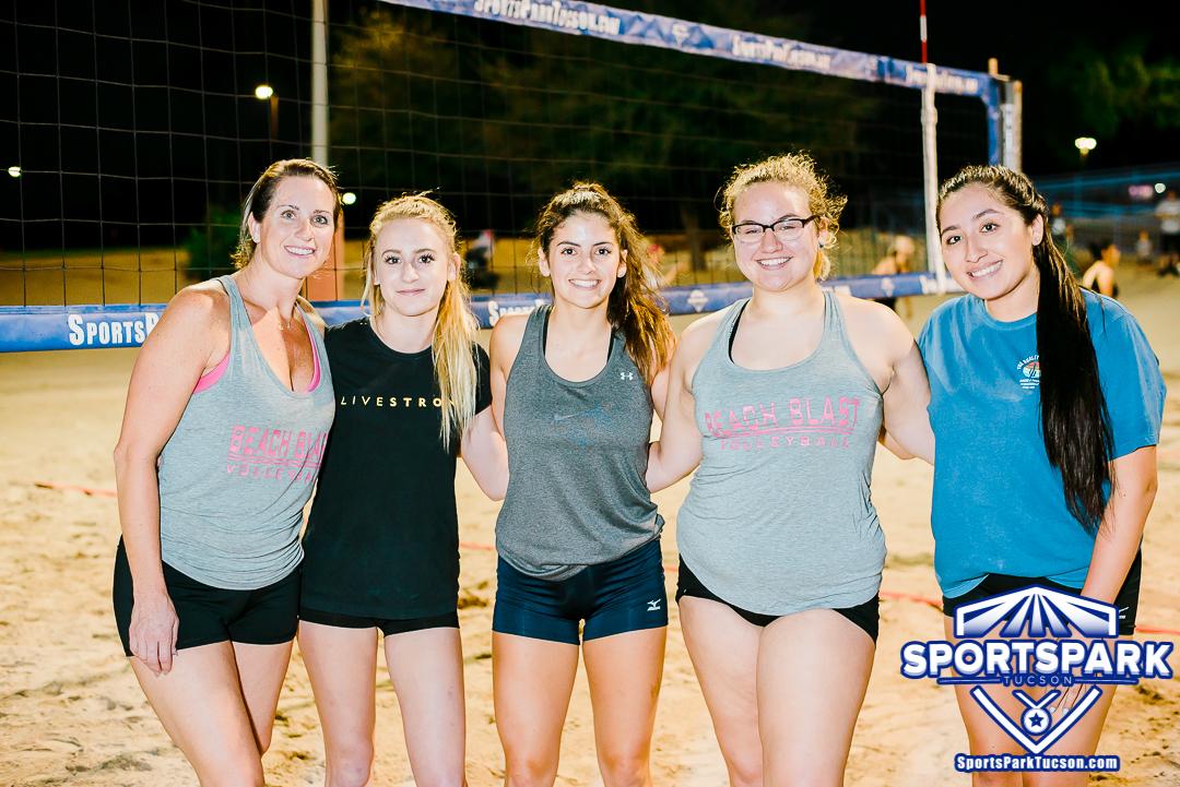 Volleyball Thu Women's 6v6 - C, Team: Beach Blast