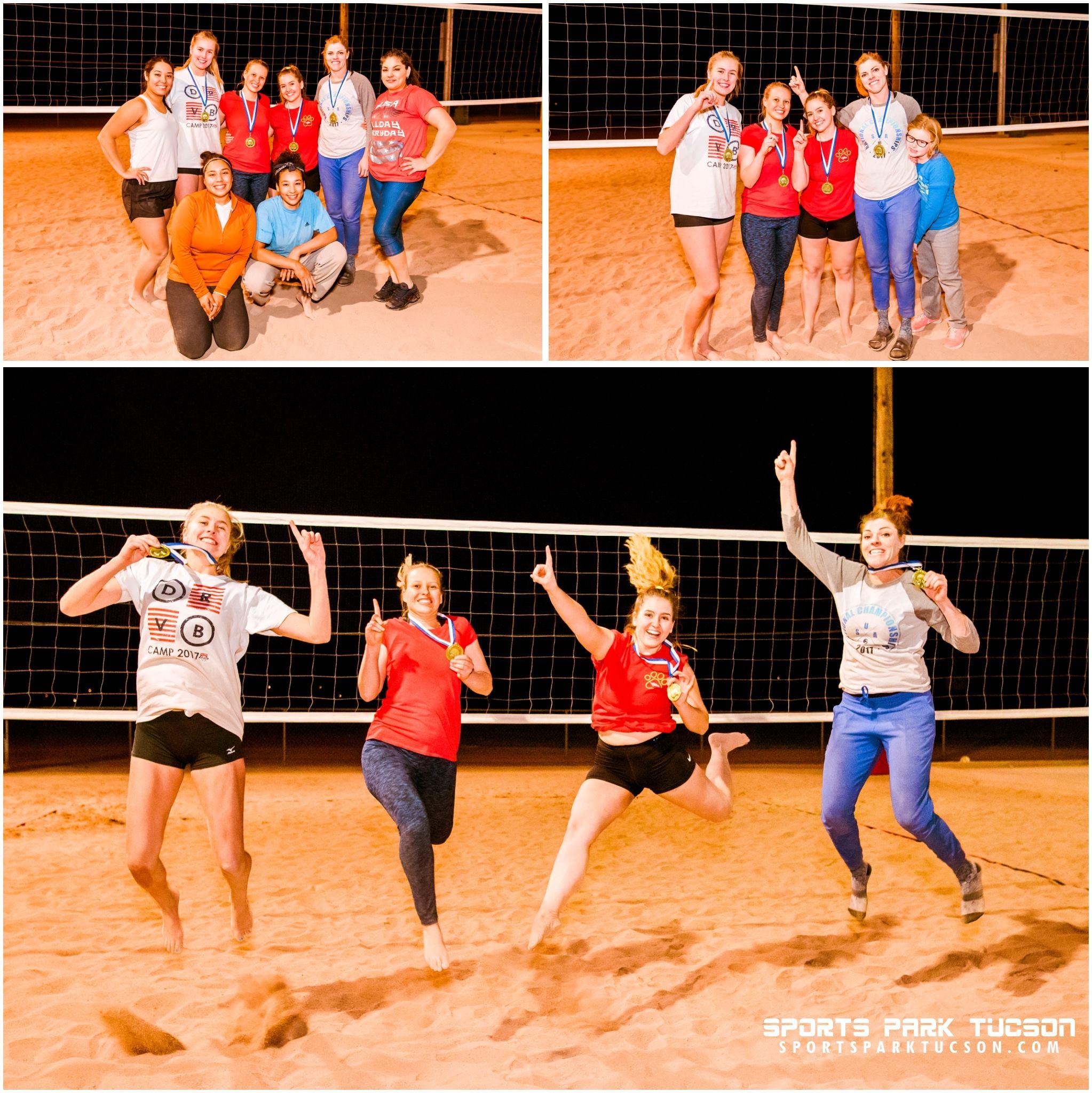 November 11th Volleyball Tournament (Women's) - 5PM Champions
