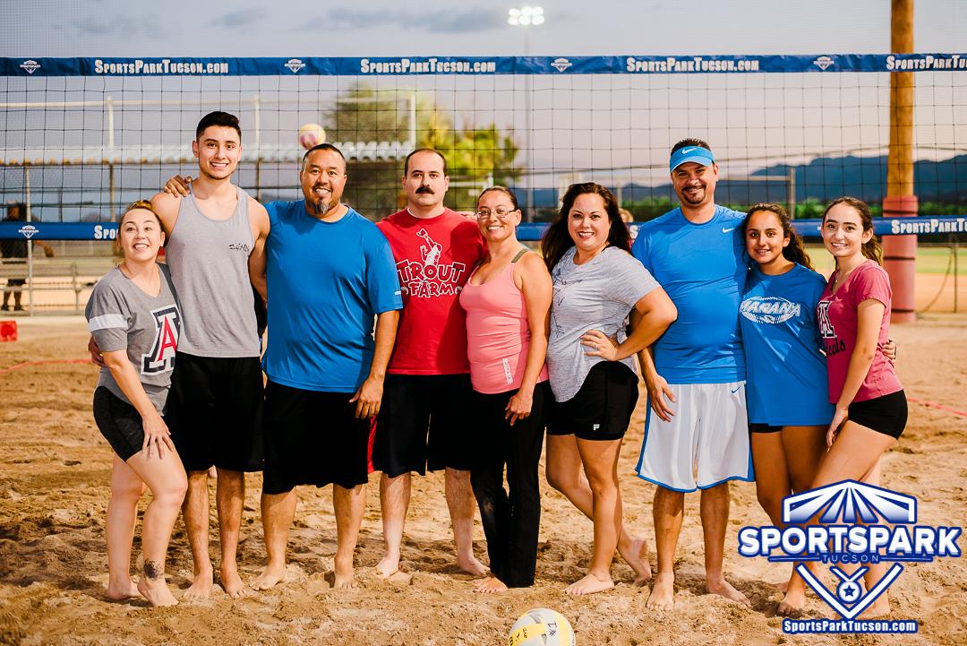 Volleyball Fri Co-ed 6v6 - C, Team: Balls Deep