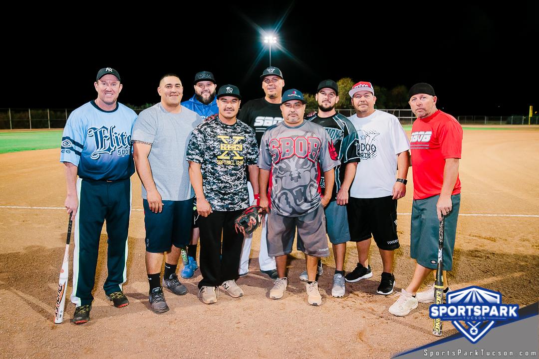 Softball Thu Men's 10v10 - 35+, Team: Platinum Air