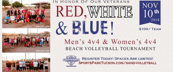 Nov 10th RWB Volleyball Tournament Men's/Women's 4v4