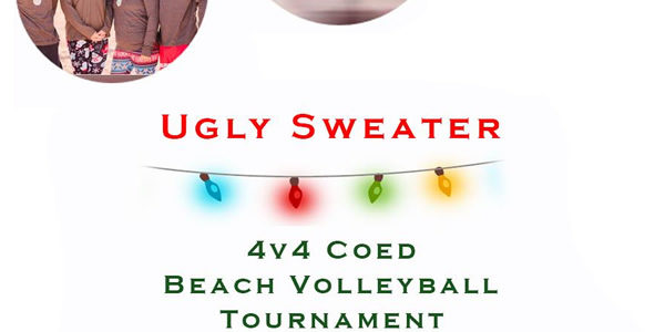 Dec 15th Ugly Sweater Volleyball Tournament Co-ed 4v4 – A/B