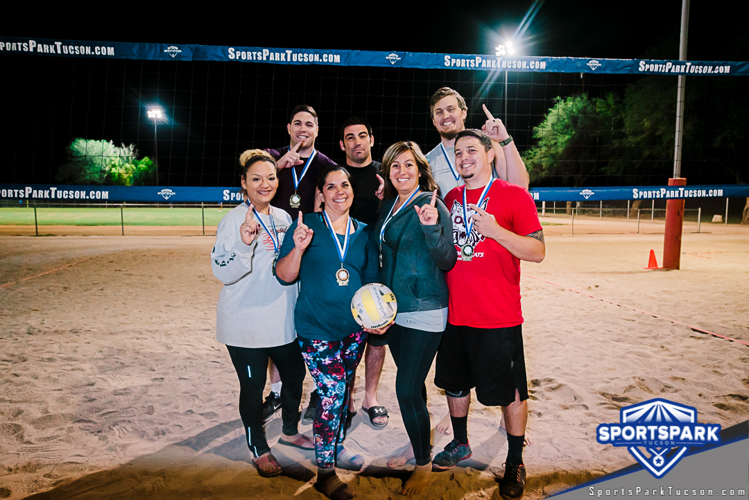 Volleyball Fri Co-ed 6v6 - C, Team: Sand Wedgies
