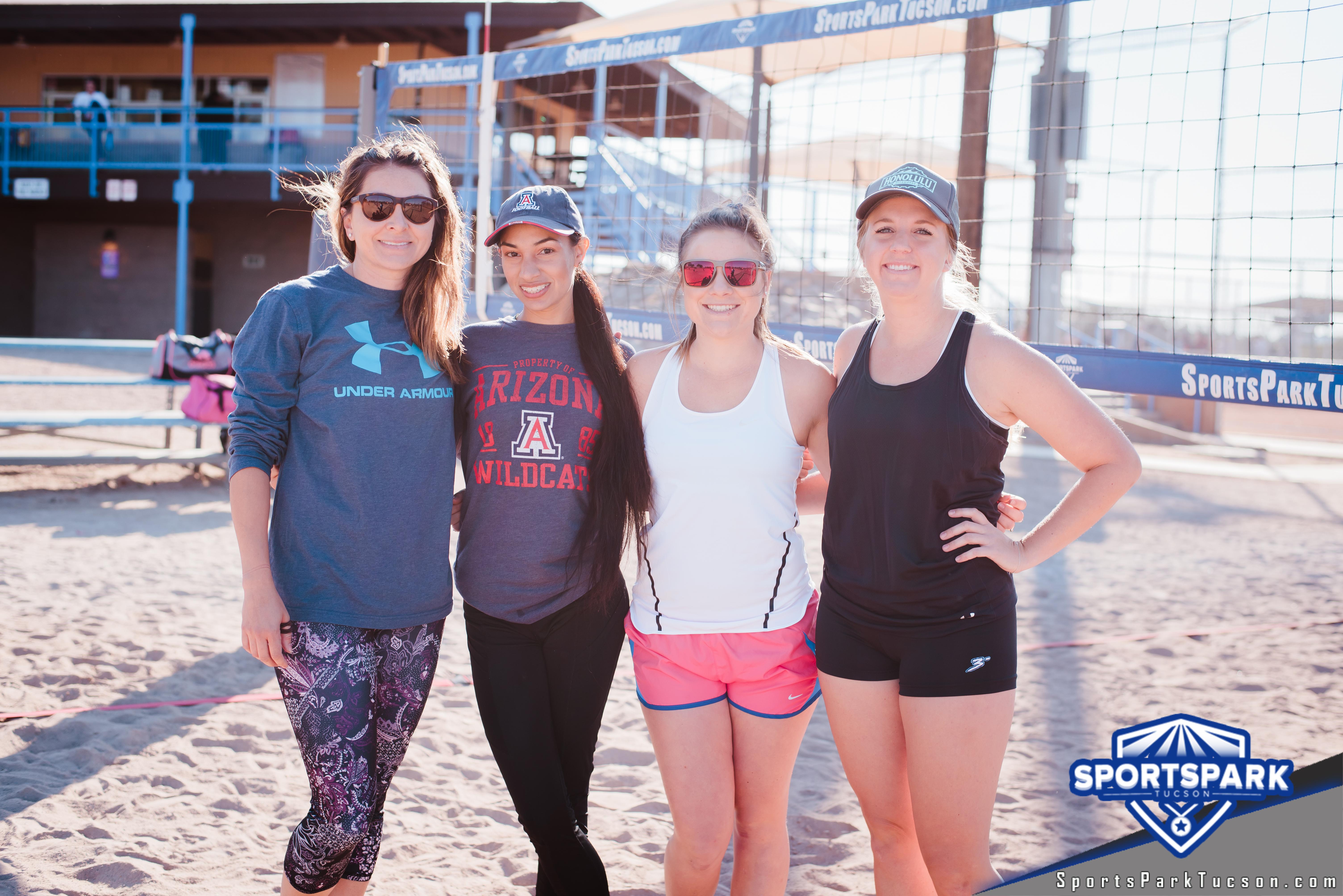 Nov 10th RWB Volleyball Tournament Women's 4v4 - A/B, Team: She-Unit