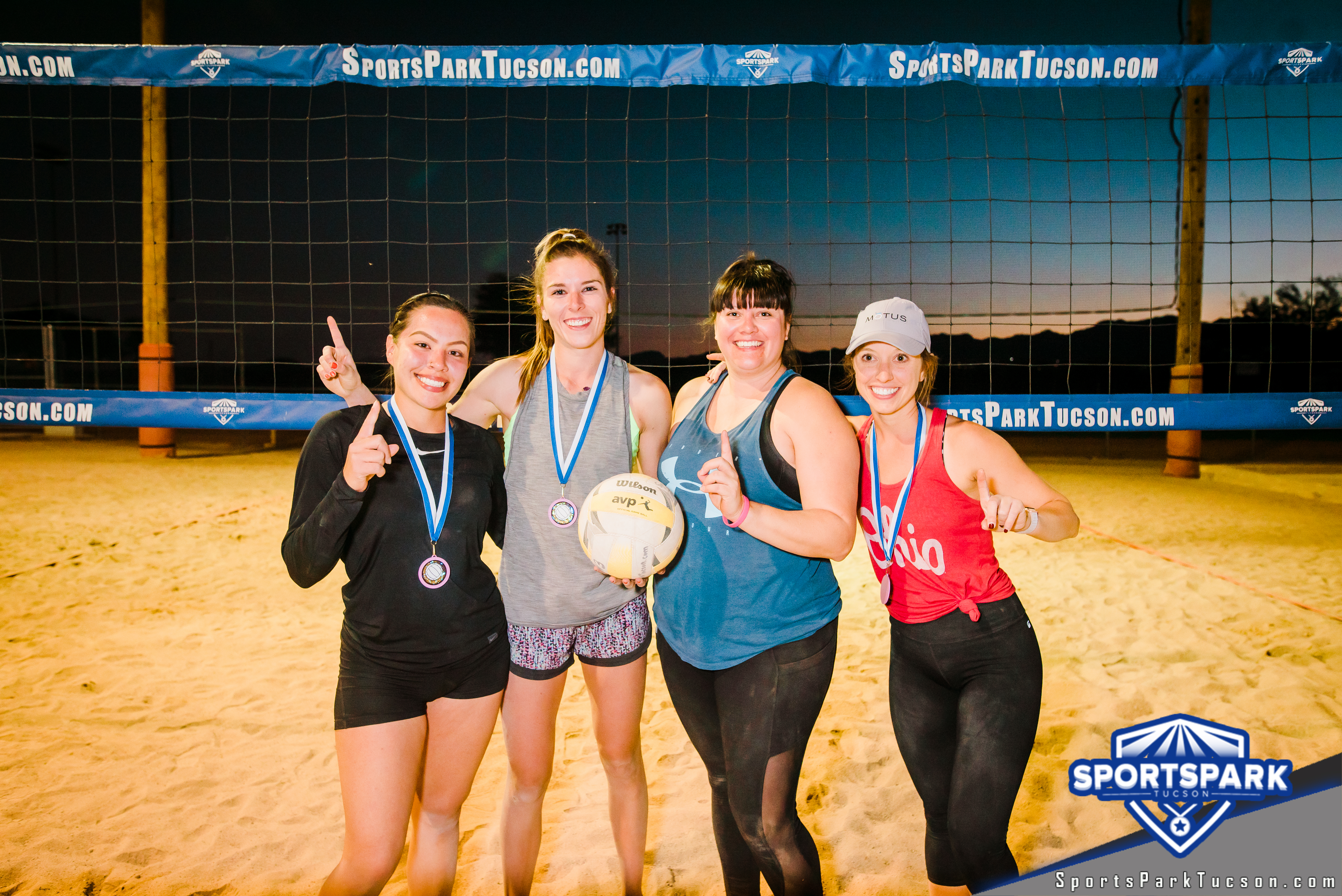 Nov 10th RWB Volleyball Tournament Women's 4v4 - A/B Champions