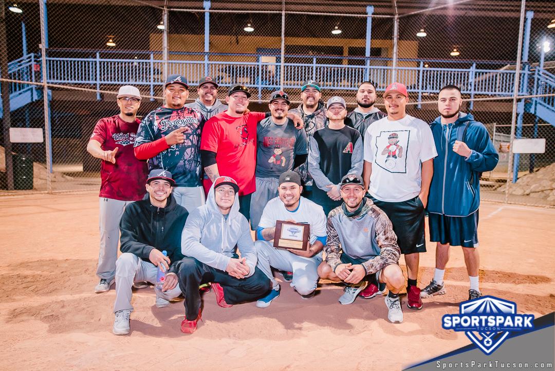 Softball Sun Men's 10v10 - E Champions