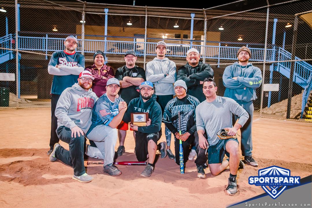 Softball Mon Men's 10v10 - D, Team: #MBN