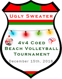Dec 15th Ugly Sweater Volleyball Tournament Co-ed 4v4