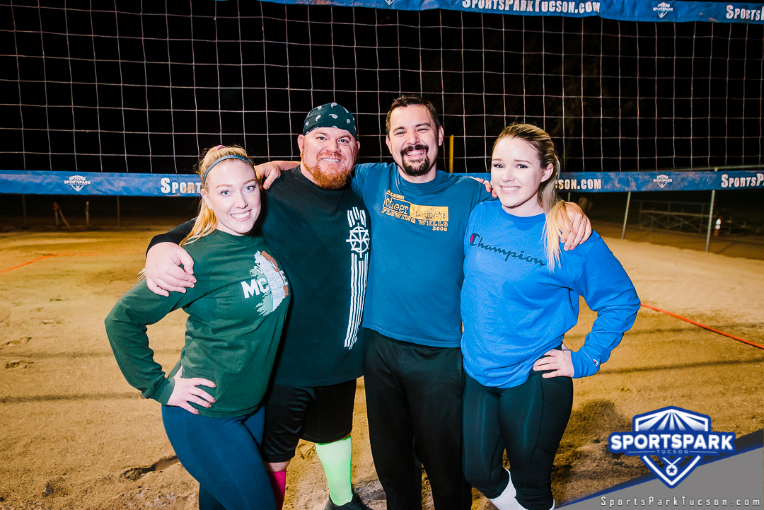 Volleyball Wed Co-ed 4v4 - C, Team: Sands of Anarchy