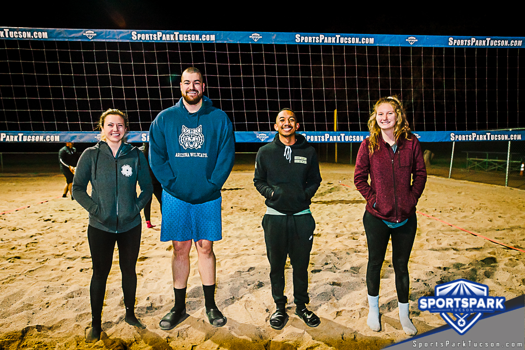 Volleyball Wed Co-ed 4v4 - A/B, Team: Tucson Eye Candy