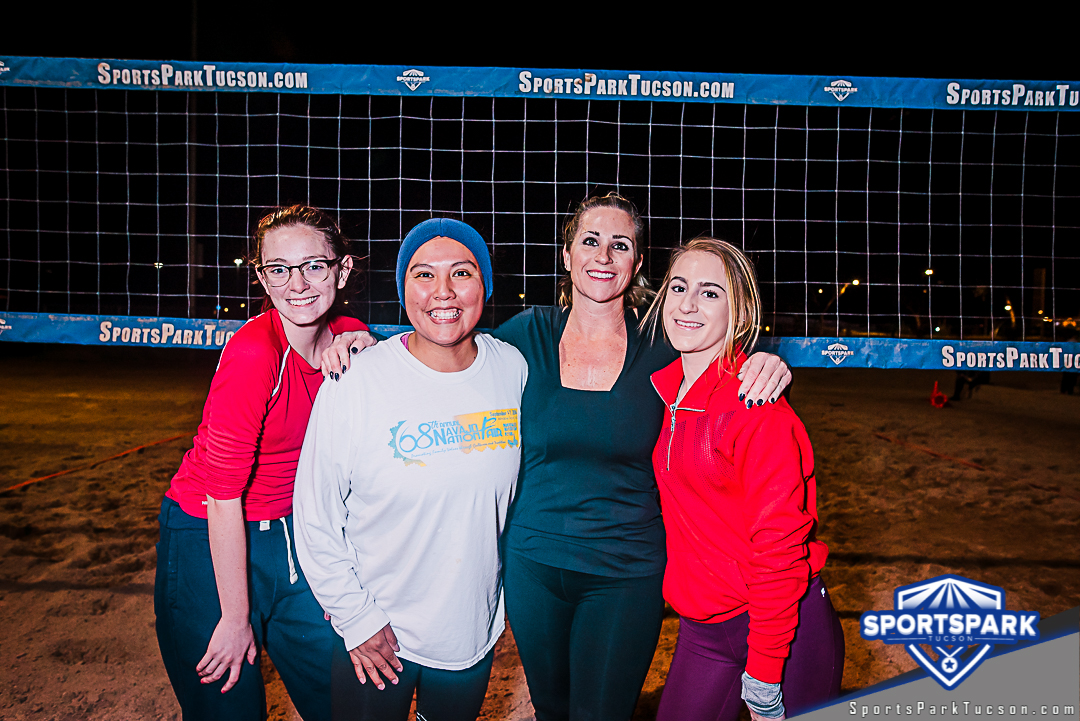 Volleyball Thu Women's 6v6 - C, Team: Beach Blast