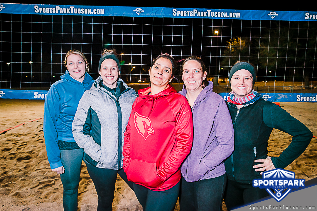 Volleyball Thu Women's 6v6 - A/B, Team: Bumping Betties