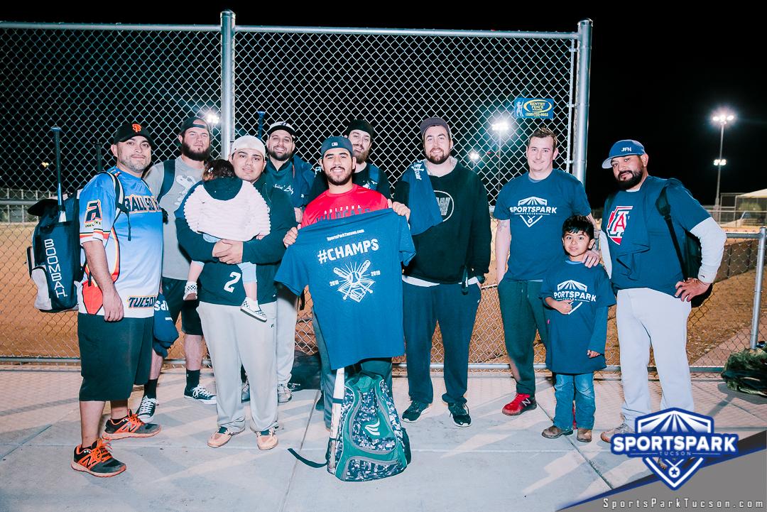 Softball Fri Men's 10v10 - D, Team: Alcoballics