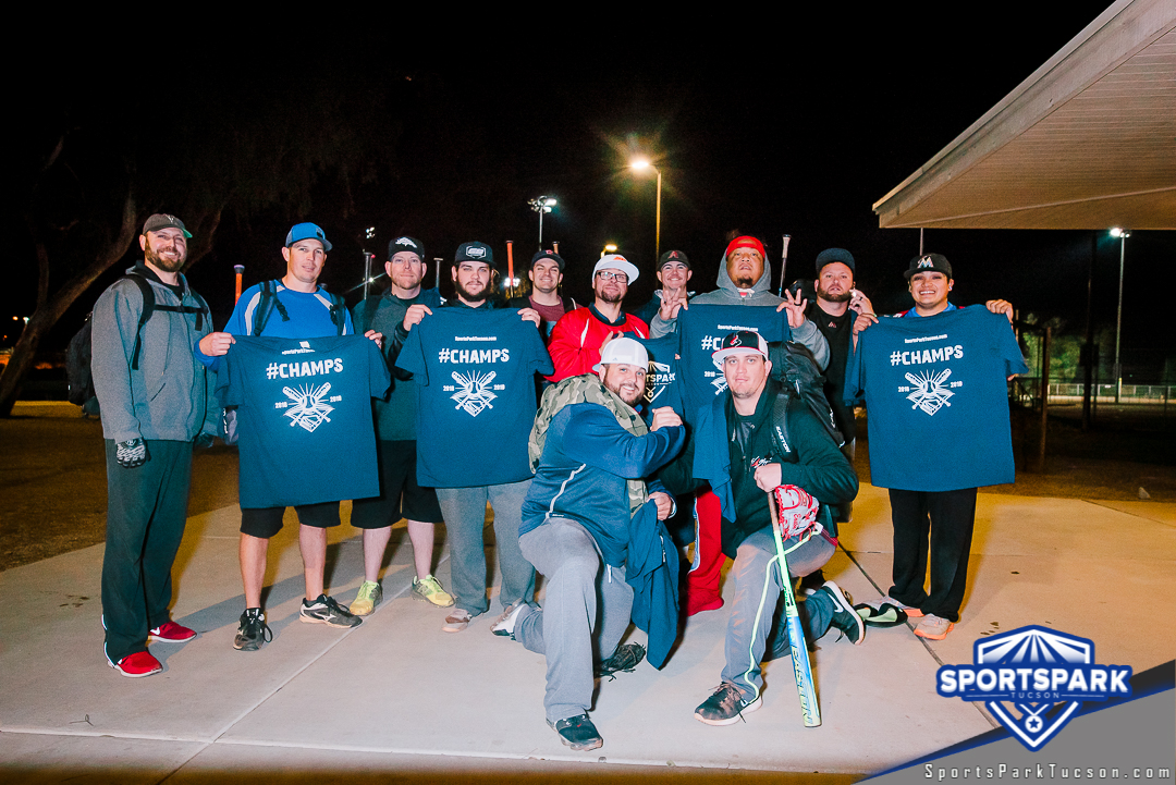 Softball Sun Men's 10v10 - D, Team: Vallee Gold Team