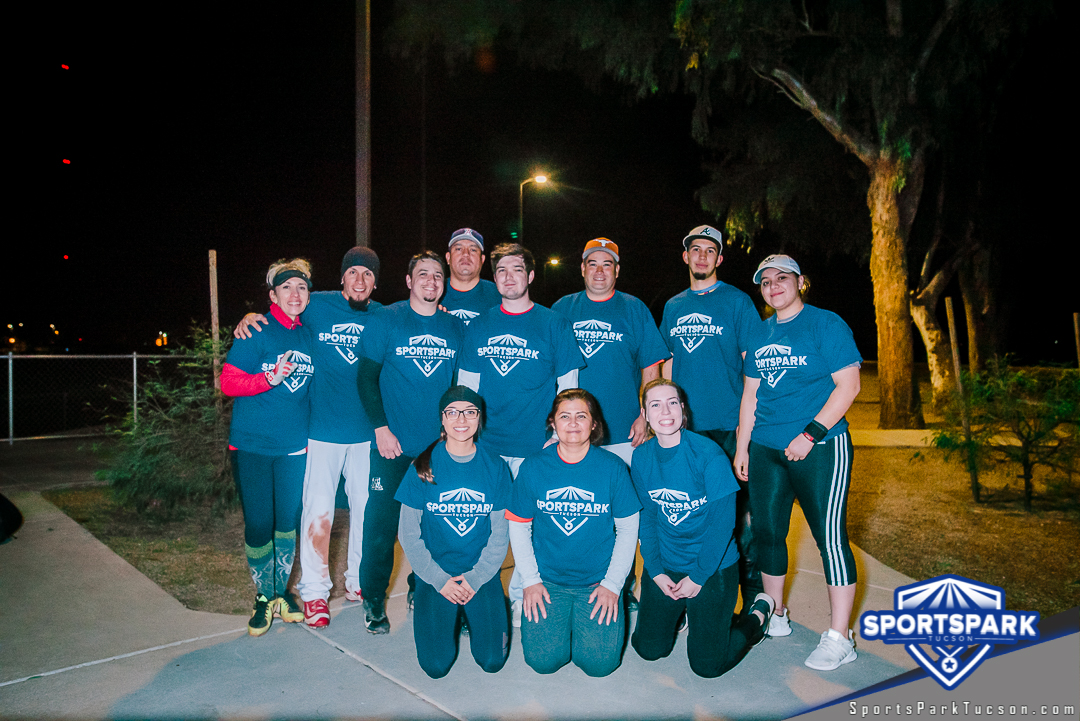 Softball Sun Co-ed 10v10 - E, Team: Diamond Rookies