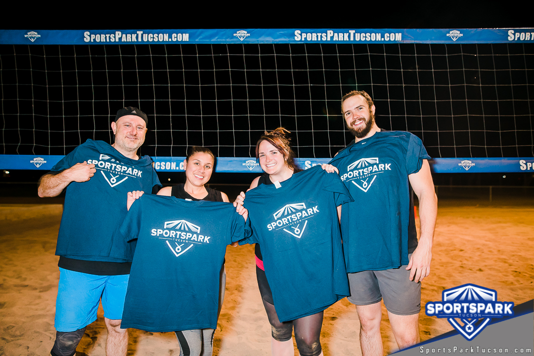Volleyball Wed Co-ed 4v4 - C Champions