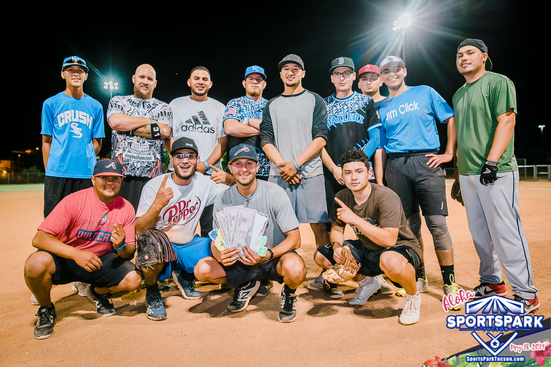 May 18th Softball Tournament Men's 10v10 - Lower Champions