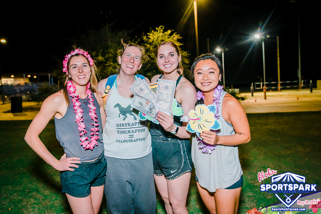 May 18th Luau Volleyball Tournament Women's 4v4 - A/B Champions
