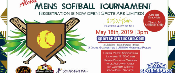 May 18th Softball Tournament Men's 10v10