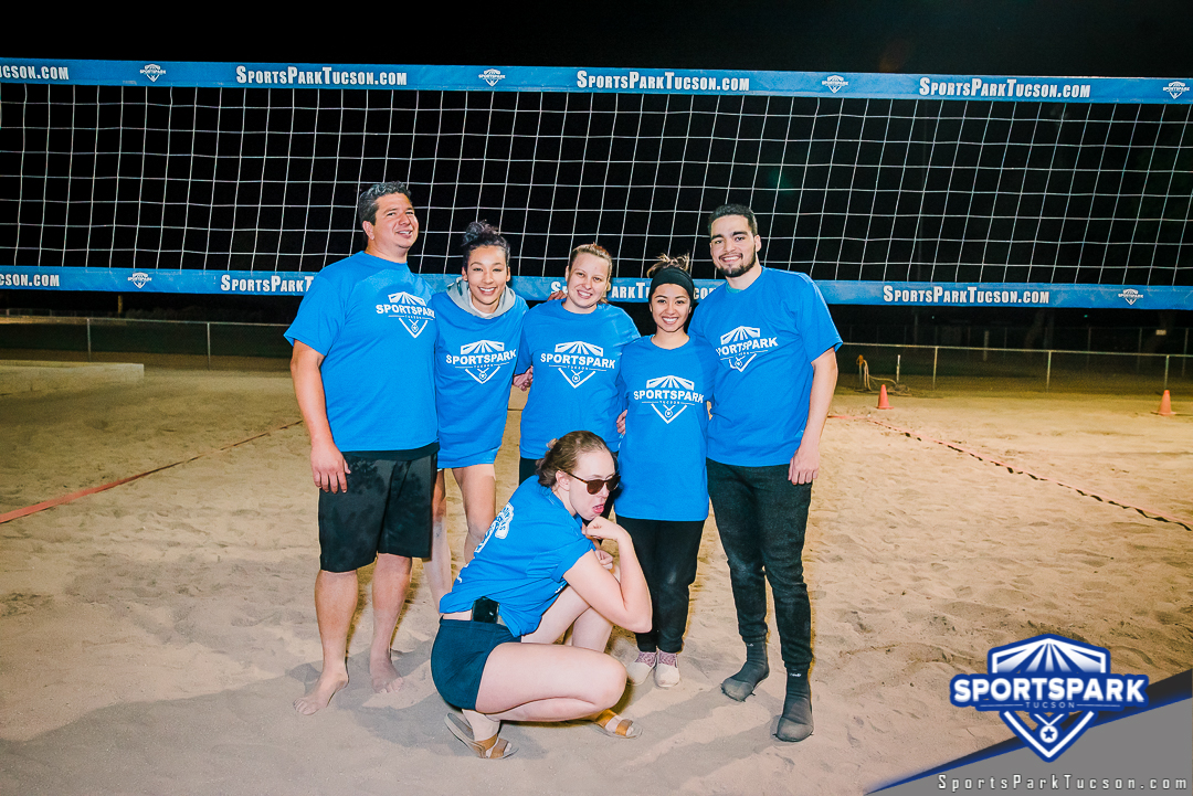 Volleyball Fri Co-ed 6v6 - A/B Champions
