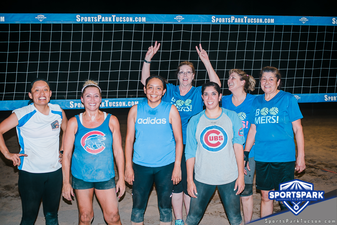 Volleyball Thu Women's 6v6 - C Champions