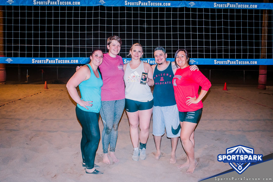 Volleyball Fri Co-ed 6v6 - C, Team: Sand Stars