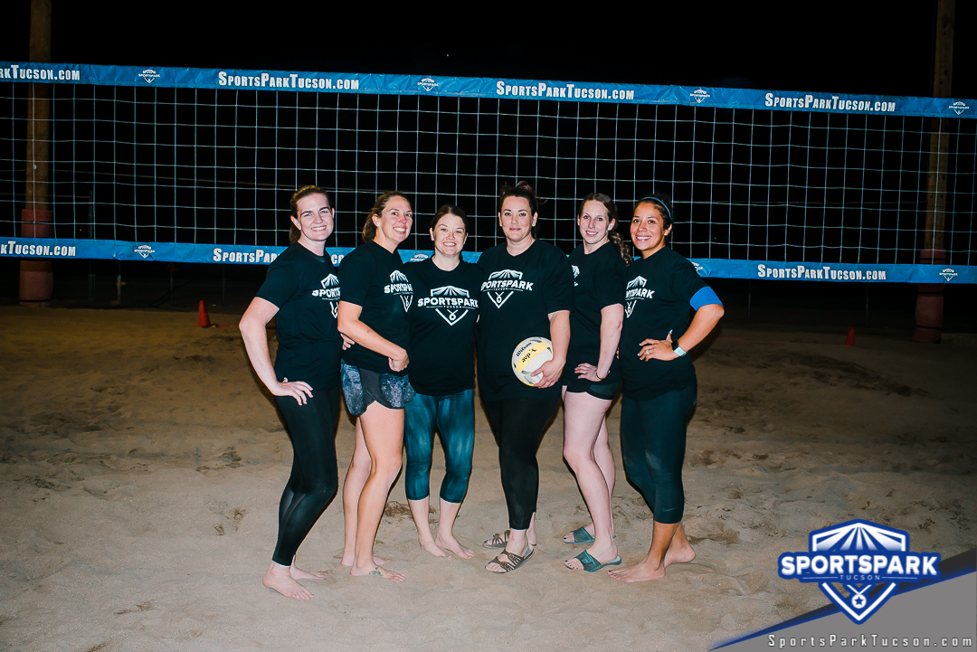 Volleyball Thu Women's 6v6 - A/B Champions
