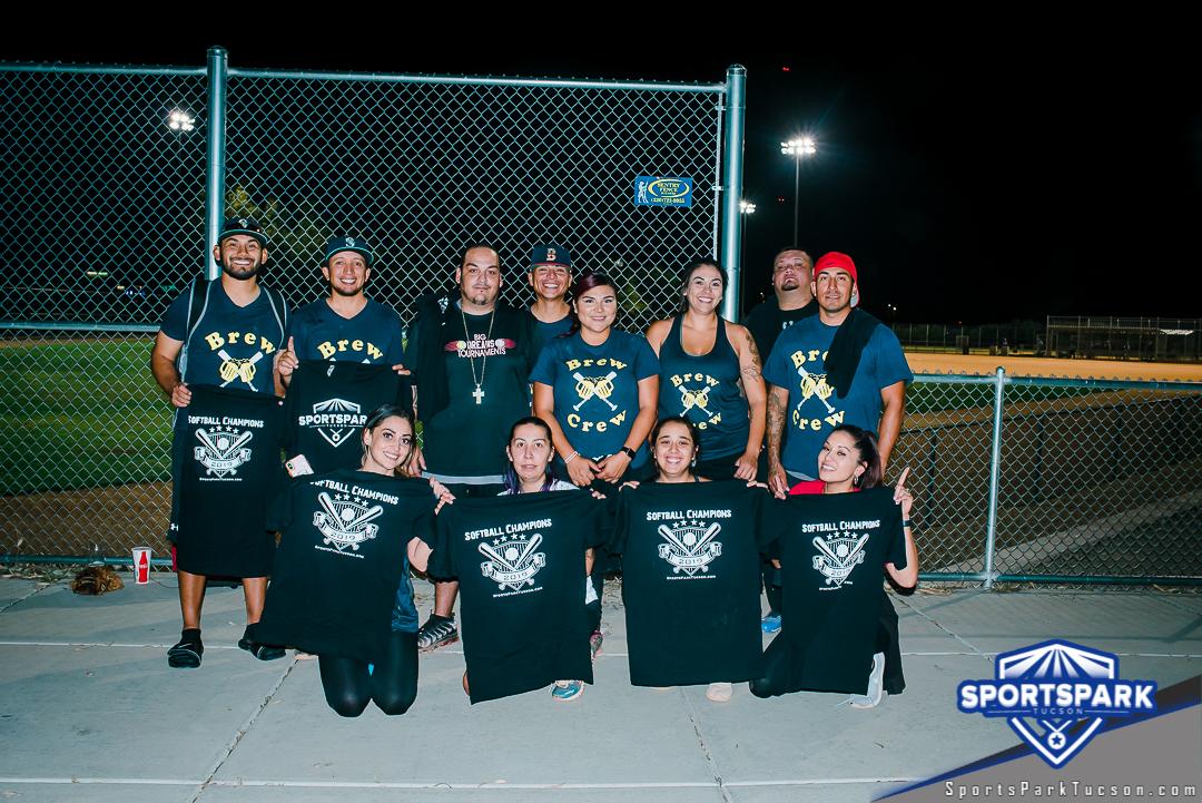 Softball Sun Co-ed 10v10 - E, Team: Brew Crew