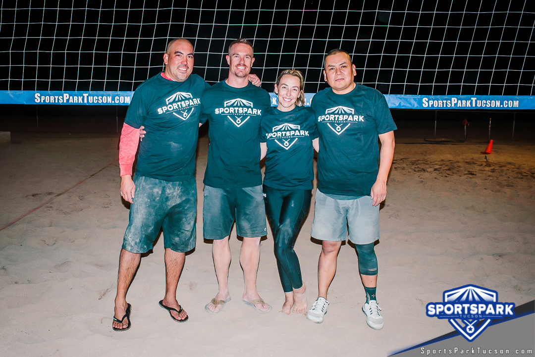 Volleyball Mon Co-ed Lite 4v4 - A/B Champions