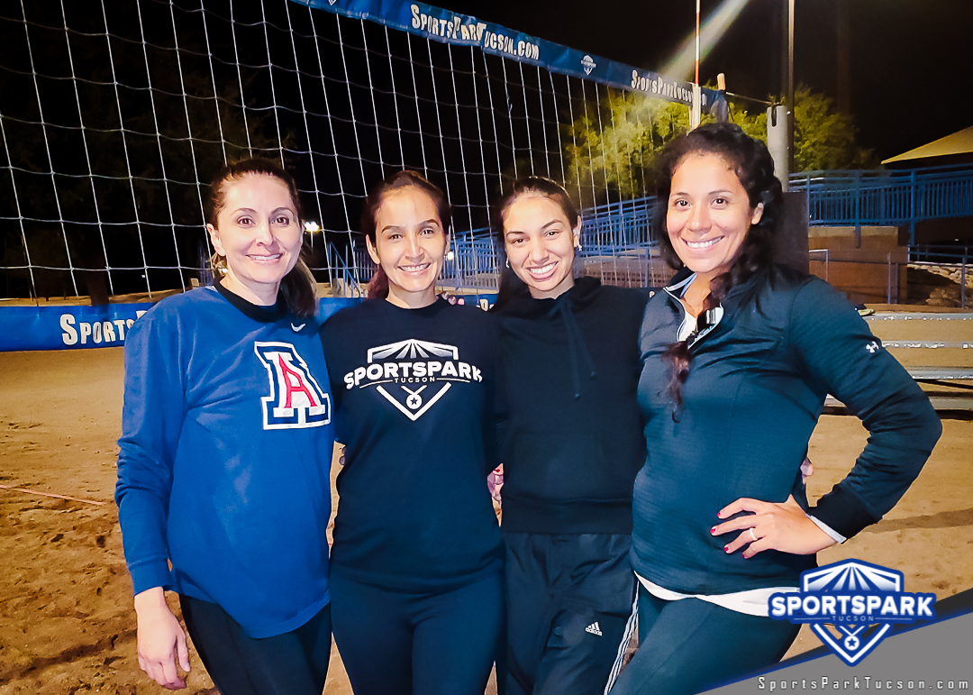 Volleyball Tue Women's 4v4 - A/B Champions