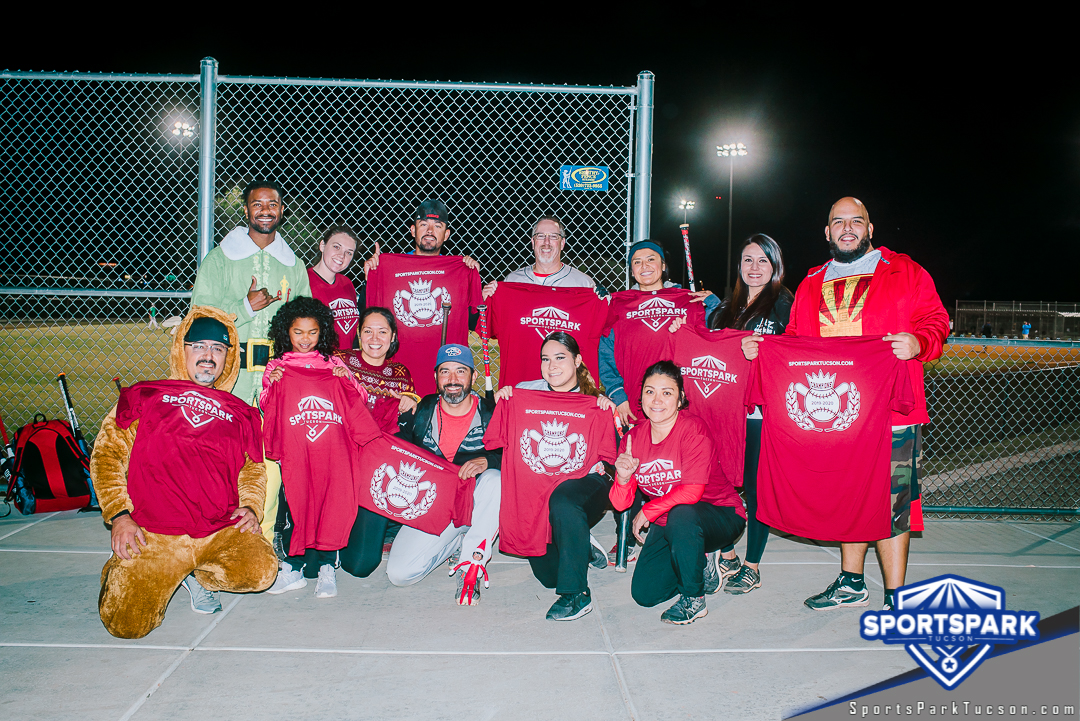 Softball Fri Co-ed 10v10 - E/Rec Champions