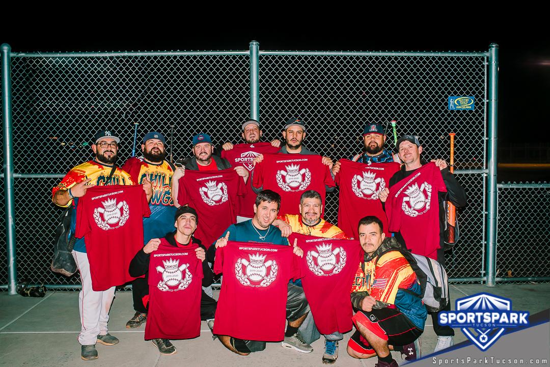Softball Fri Men's 10v10 - E/Rec Champions