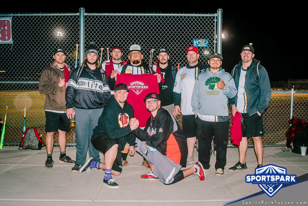 Softball Sun Men's 10v10 - D Champions