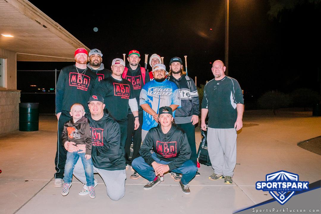 Softball Mon Men's 10v10 - D, Team: MBN Wolfpac
